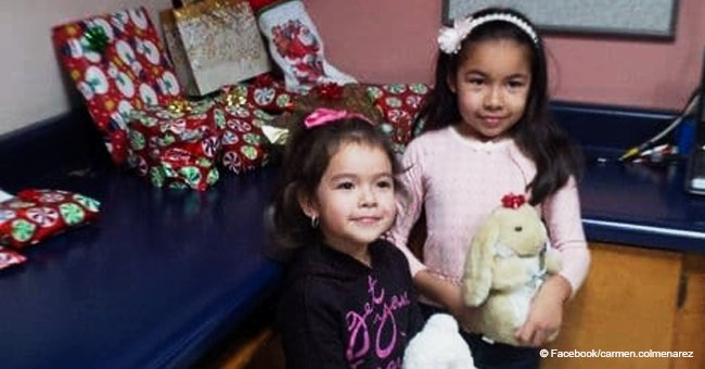 Letter to Santa of a Mexican girl's wish fulfilled by an American man after she crossed border.