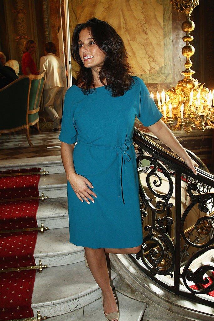 Faustine Bollaert en mai 2012 à Paris.   Photo : Getty Images