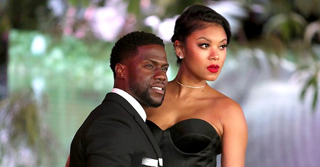 Kevin Hart's Son Kenzo Chills with Mom as He Bonds with Sister Kaori with Butterfly-Shaped Bow