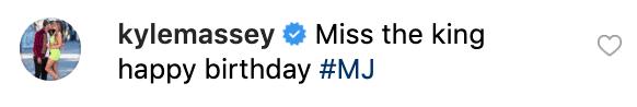 Kyle Massey's comment on Hilton's post | Source: Instagram/parishilton