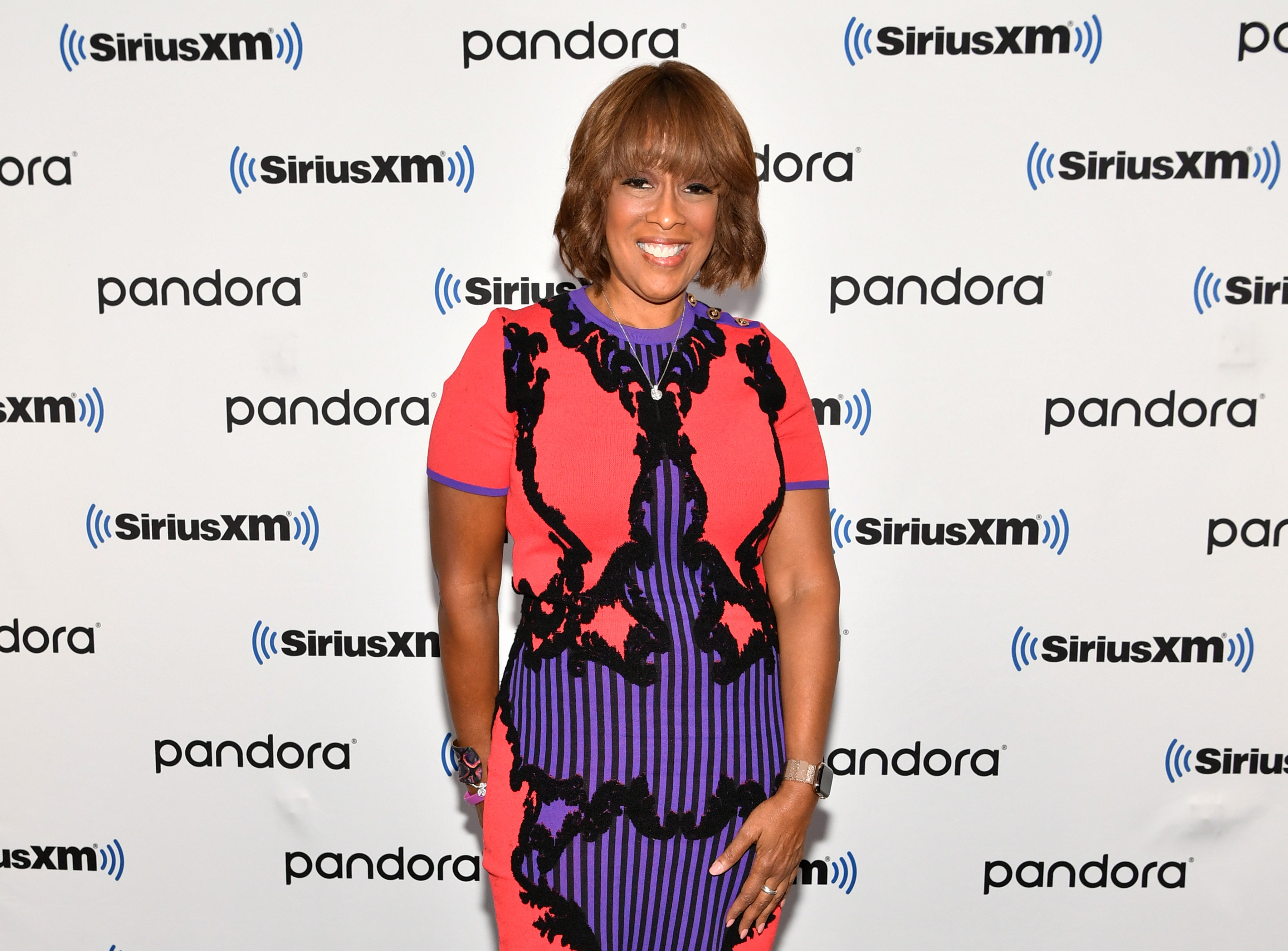 Media personality Gayle King visits SiriusXM Studios on December 09, 2019|Photo: Getty Images