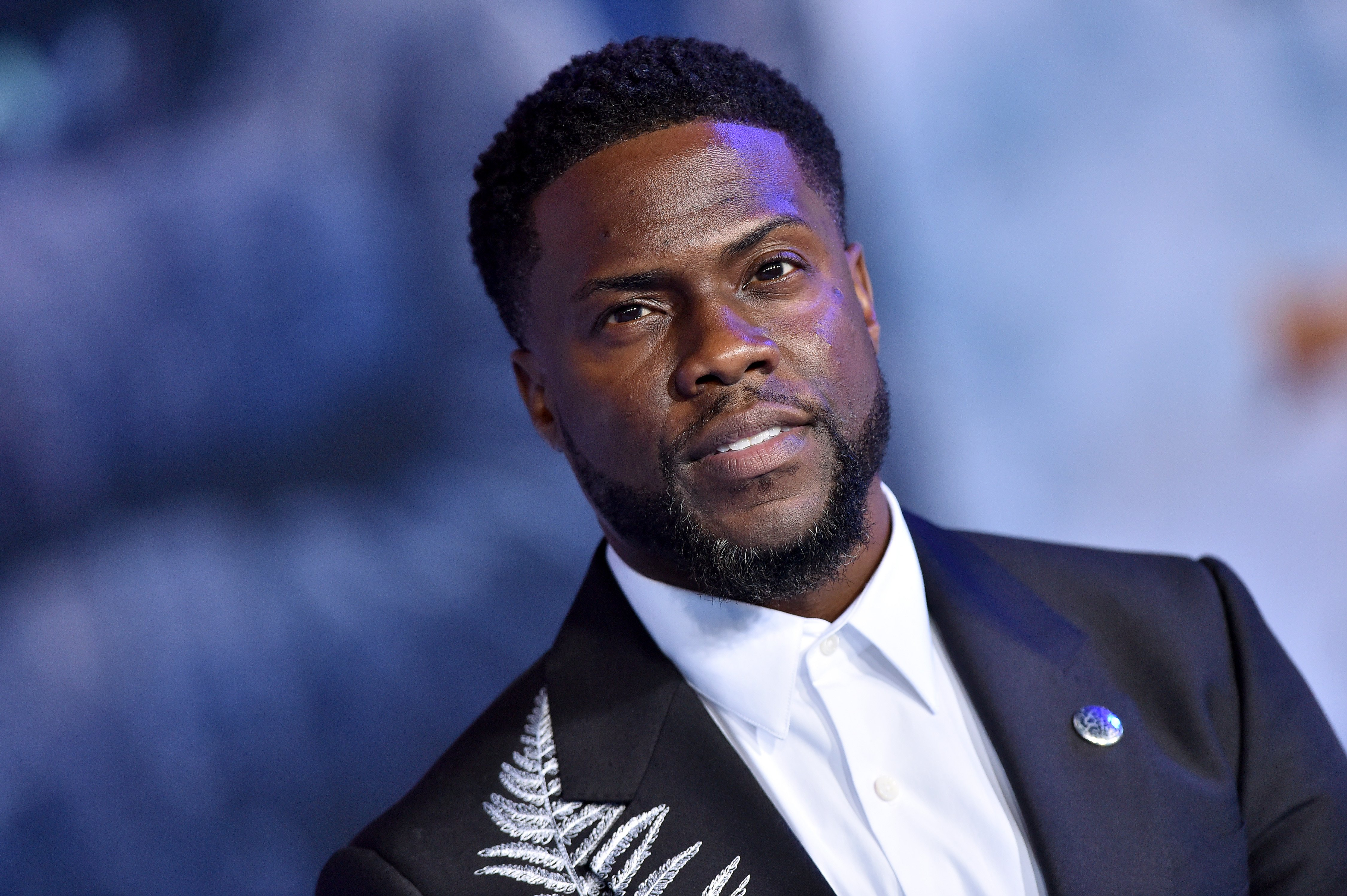 "Kevin Hart attends the premiere of Sony Pictures' ""Jumanji: The Next Level"" on December 09, 2019 
