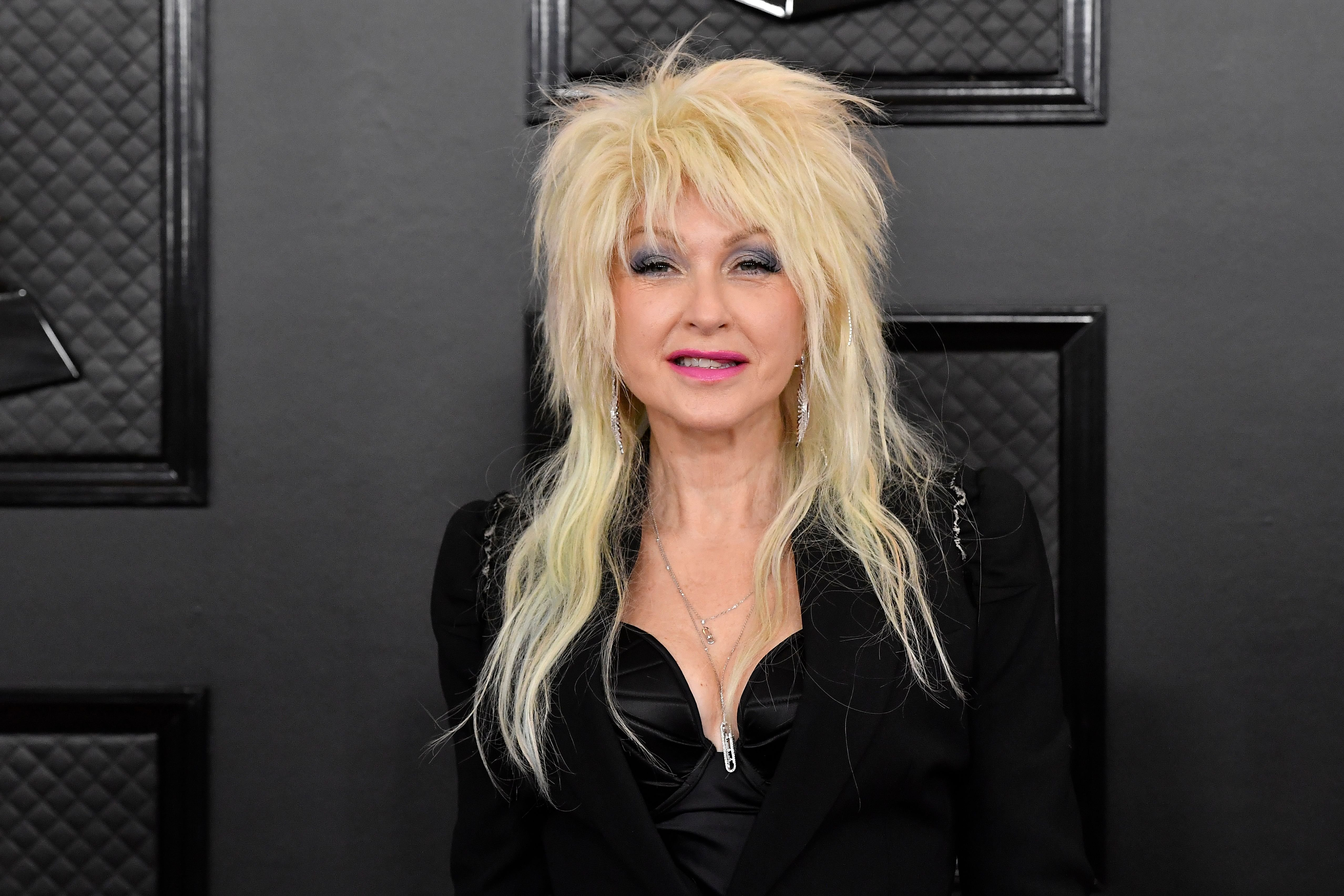 Cyndi Lauper atthe 62nd Annual Grammy Awards at StaplesCenter on January 26, 2020, in Los Angeles, California   Photo:Frazer Harrison/Getty Images