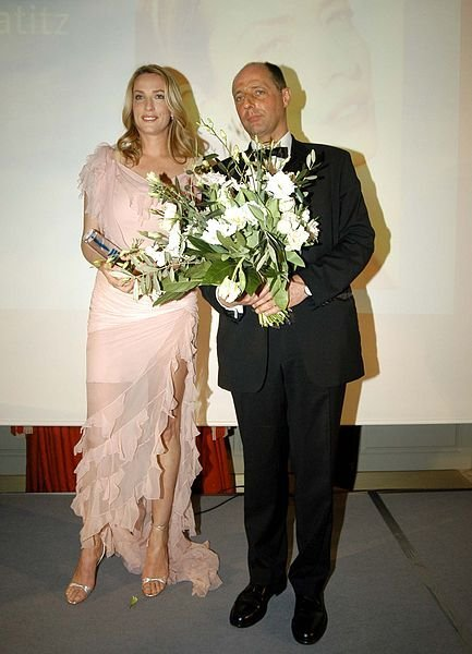 Tatjana Patitz at the Personality Award 2005. | Source: Wikimedia Commons