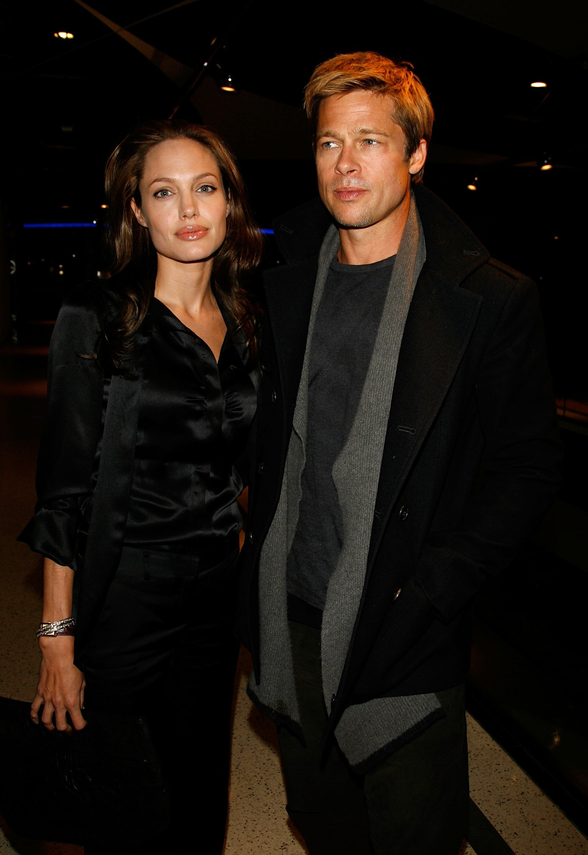 Angelina Jolie and Brad Pitt. I Image: Getty Images.