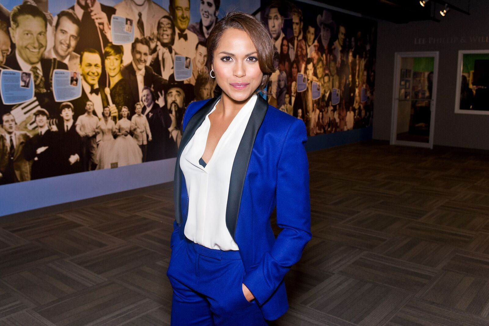 Monica Raymund appears in advance of a panel discussion at the Museum of Broadcast Communications in Chicago, IL on February 19, 2014 | Photo: Getty Images