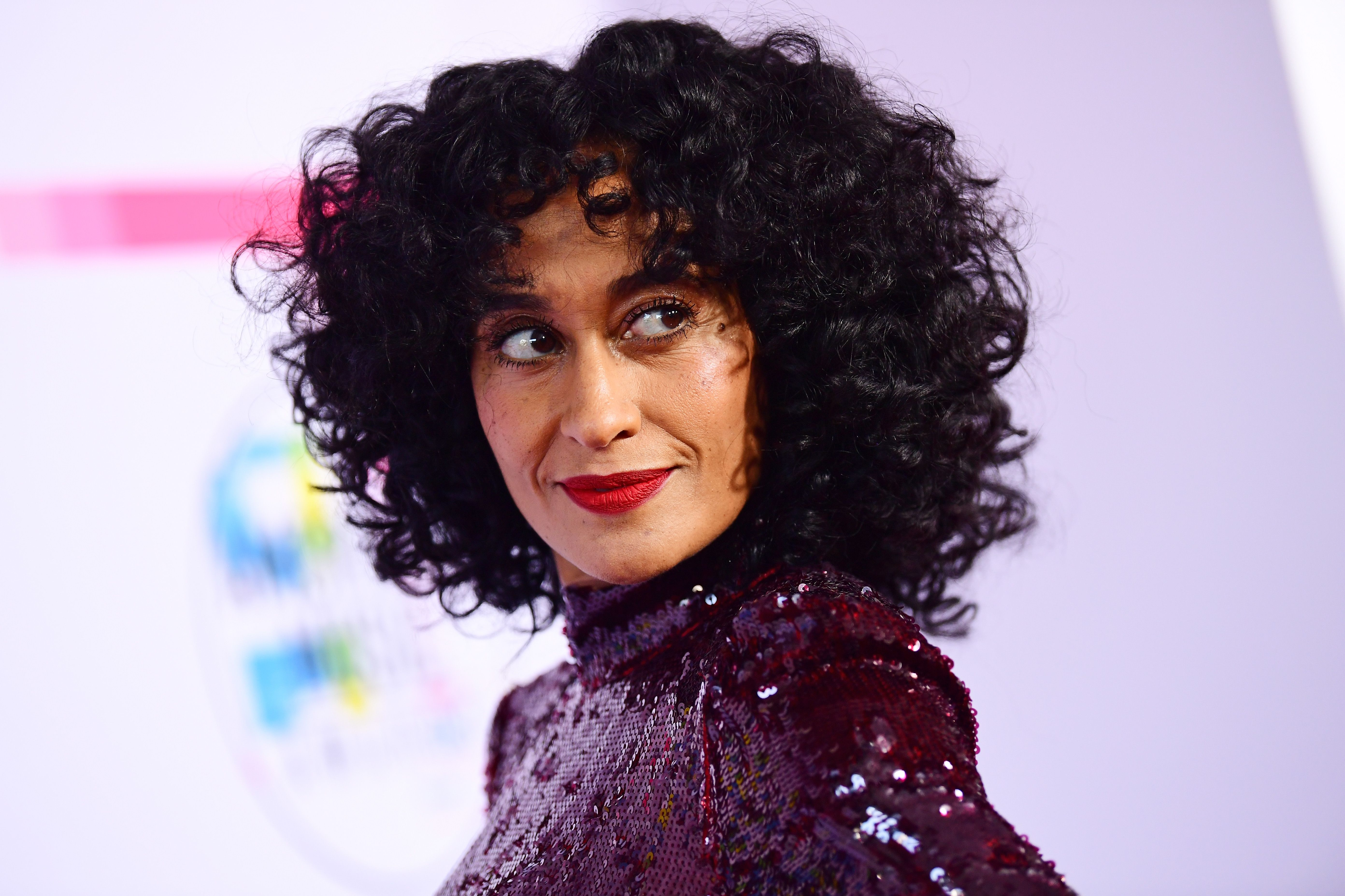 Tracee Ellis Ross at the 2017 American Music Awards at Microsoft Theater on November 19, 2017.   Photo: Getty Images