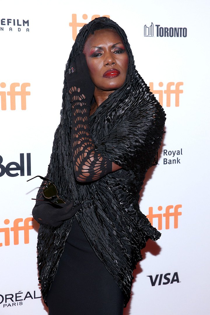 Grace Jones attends the 'Grace Jones: Bloodlight And Bami' premiere during the 2017 Toronto International Film Festival at The Elgin on September 7, 2017 in Toronto, Canada. I Image: Getty Images.
