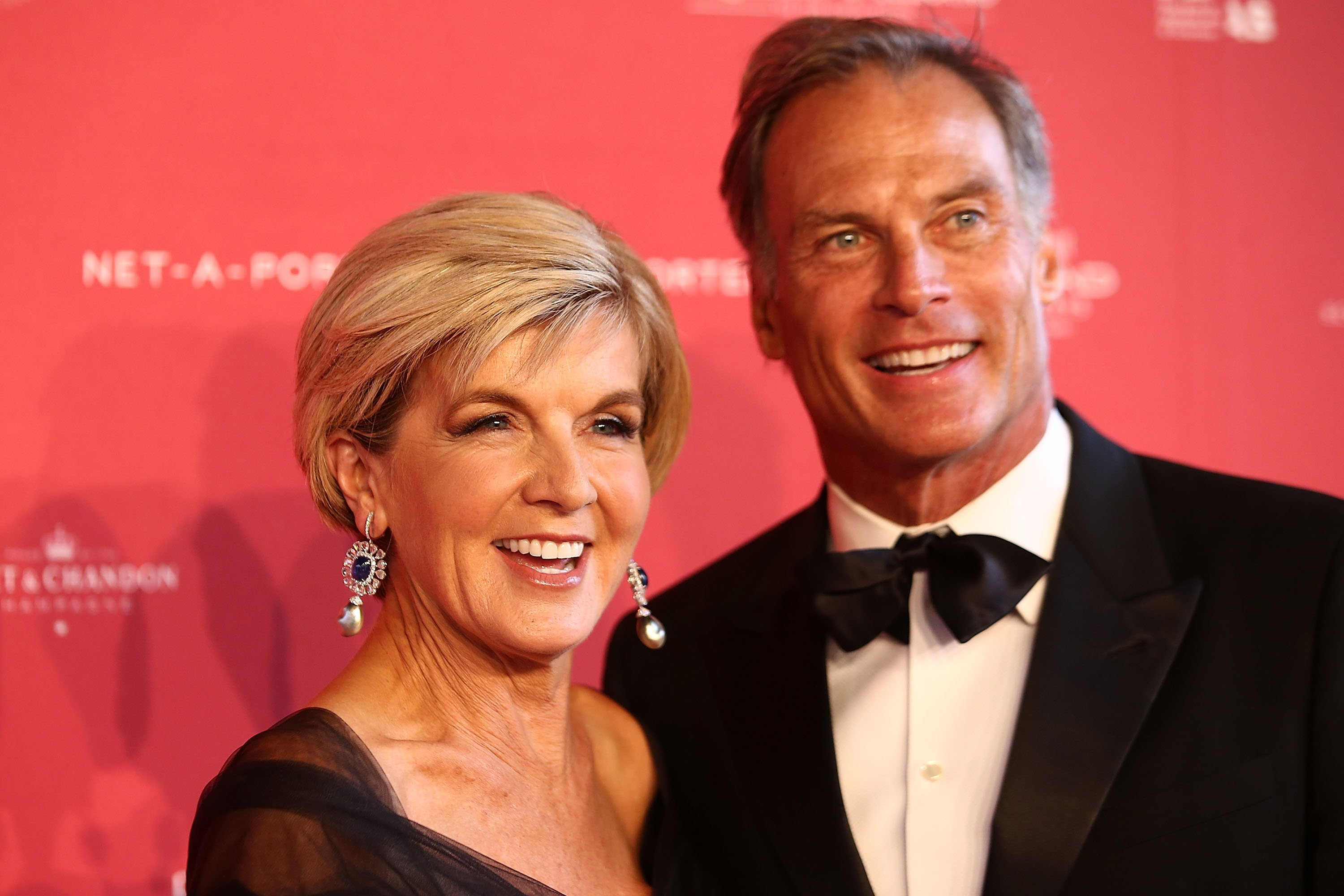 Julie Bishop and husband David Panton at the Powerhouse Museum in Sydney, Australia | Photo: Getty Images