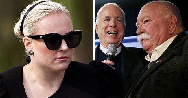 How Meghan McCain Paid Tribute to Her Late Dad John's Supporter Wilford Brimley Following His Death