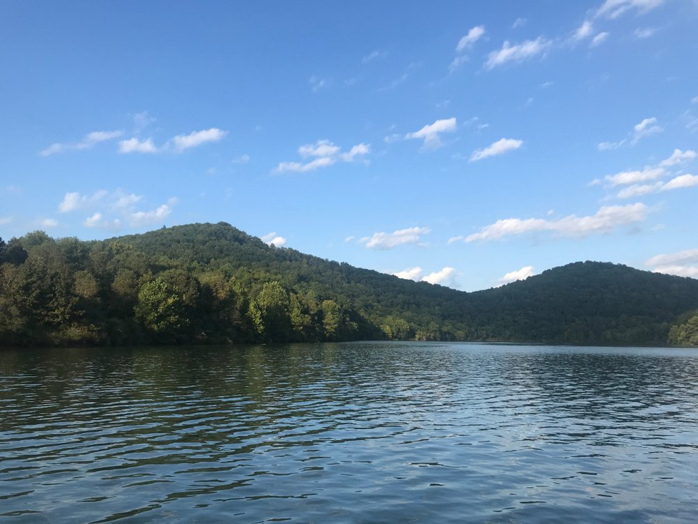 A photo of the water on Burnsville Lake in West Virginia | Photo: Shutterstock