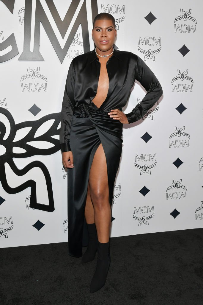 EJ Johnson at the MCM Global Flagship Store Grand Opening in Beverly Hills | Source: Getty Images