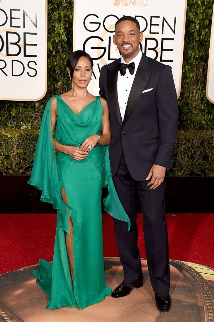 Will and Jada Pinkett-Smith at the Golden Globe Awards red carpet | Source: Getty Images/GlobalImagesUkraine