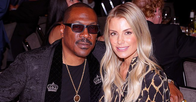 Actor Eddie Murphy and wife Paige Butcher attend the ceremony honoring Brett Ratner with a Star on the Hollywood Walk of Fame | Photo: Getty Images