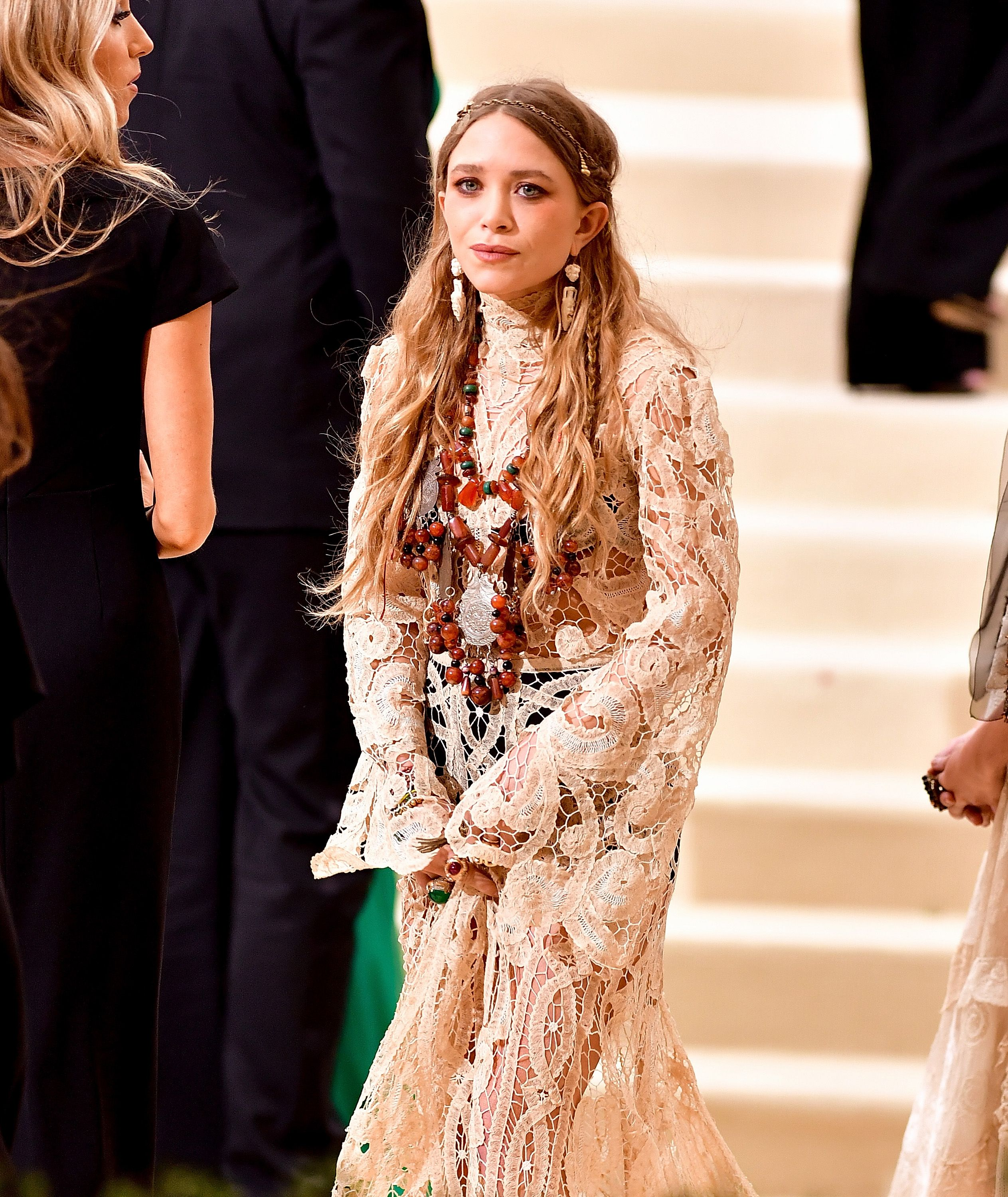 NEW YORK, NY - MAY 01: Mary-Kate Olsen attends the 'Rei Kawakubo/Comme des Garcons: Art Of The In-Between' Costume Institute Gala at Metropolitan Museum of Art on May 1, 2017 in New York City. (Photo by James Devaney/GC Images,