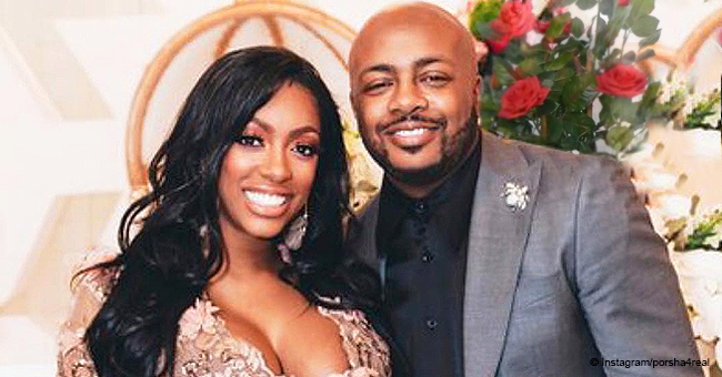 Porsha Williams & Fiancé Dennis McKinley Celebrate with Lavish Winter Wonderland-Themed Baby Shower