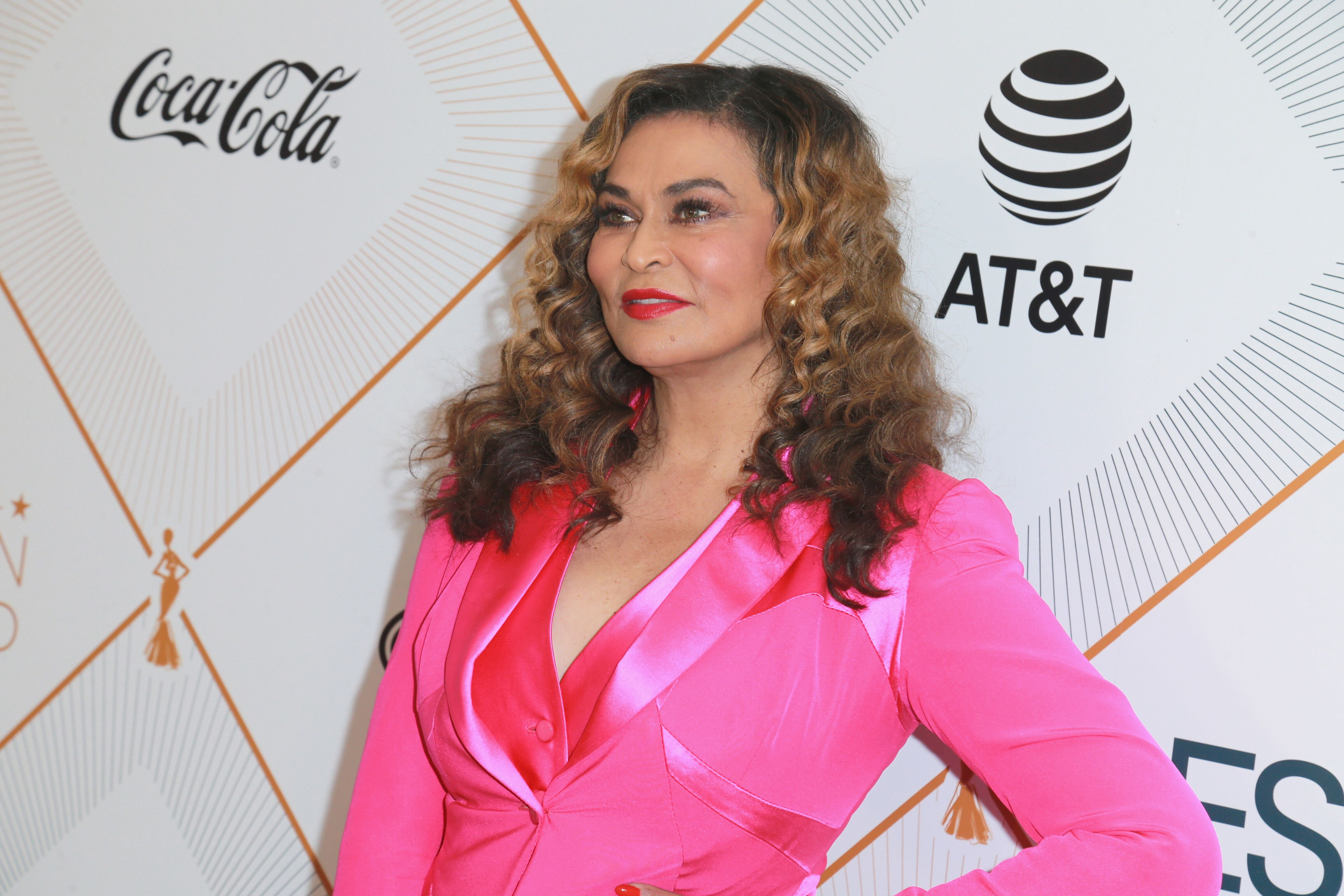 Tina Knowles-Lawson at the Essence Black Women In Hollywood Oscars Luncheon/ Source: Getty Images