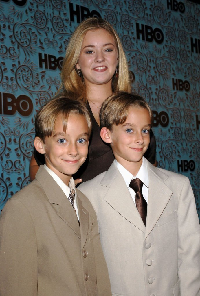 Madylin Sweeten with brothers Sawyer Sweeten and Sullivan Sweeten of Everyone Loves Raymond arrives at the HBO Emmy after party   Getty Images