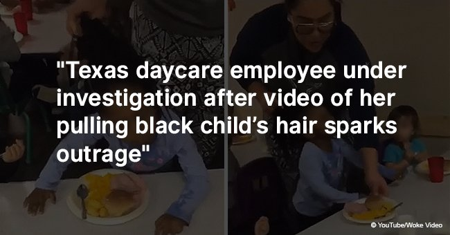 Daycare employee under investigation after video of her pulling black child's hair sparks outrage