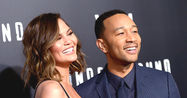 Chrissy Teigen's Son Miles Warms Hearts While Having a Slice in a New Photo