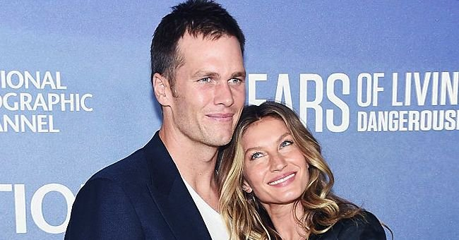 Tom Brady Shares Romantic Photo of Him & Wife Gisele Bündchen Working out at a Gym