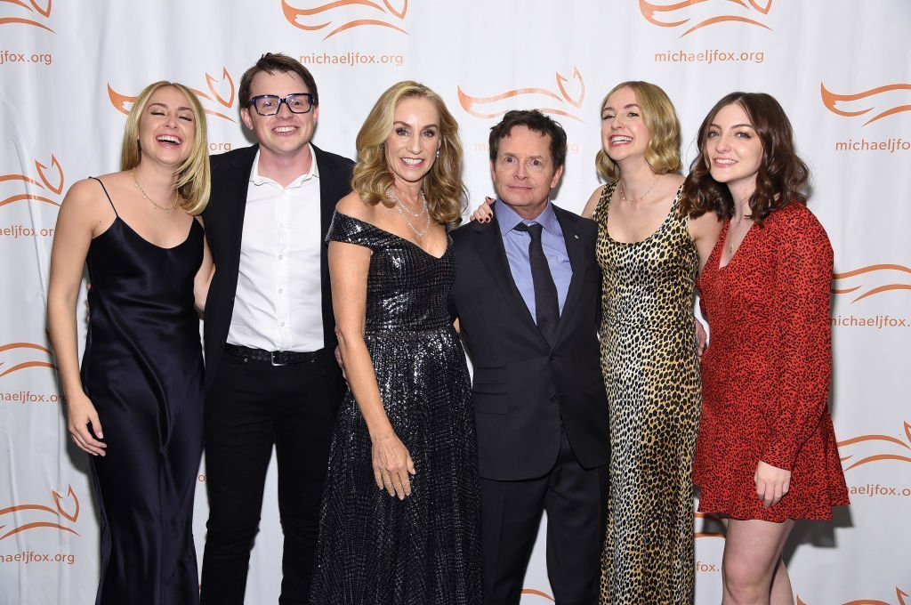 Michael Fox and his family attend A Funny Thing Happened On The Way To Cure Parkinson's benefitting The Michael J. Fox Foundation | Photo: Getty Images