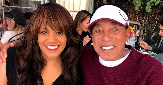 Smokey Robinson's Daughter Tamla Is All Grown up & Shares Sweet Pic to Celebrate Her Dad's 80th Birthday