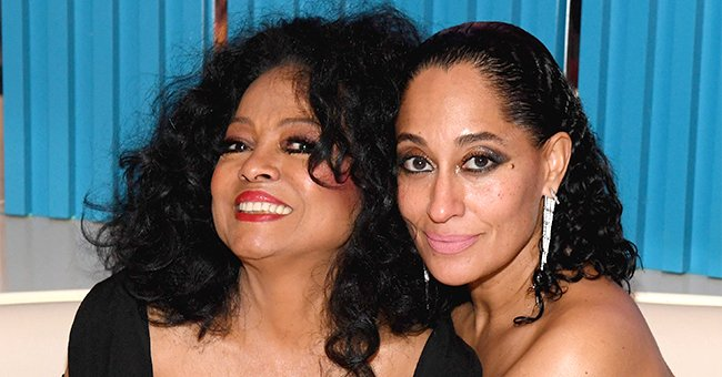 Tracee Ellis Ross Perfectly Recreates Mom Diana's Iconic Photo Wearing the Same Yellow Halter Ensemble