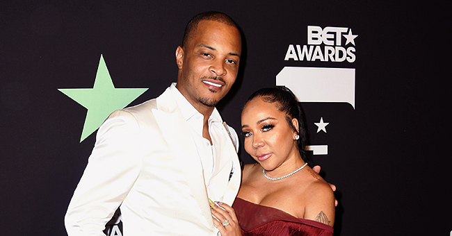 Watch T.I. Hide Diamond and Ruby Necklace in Tiny's Drink on Her 44th Birthday