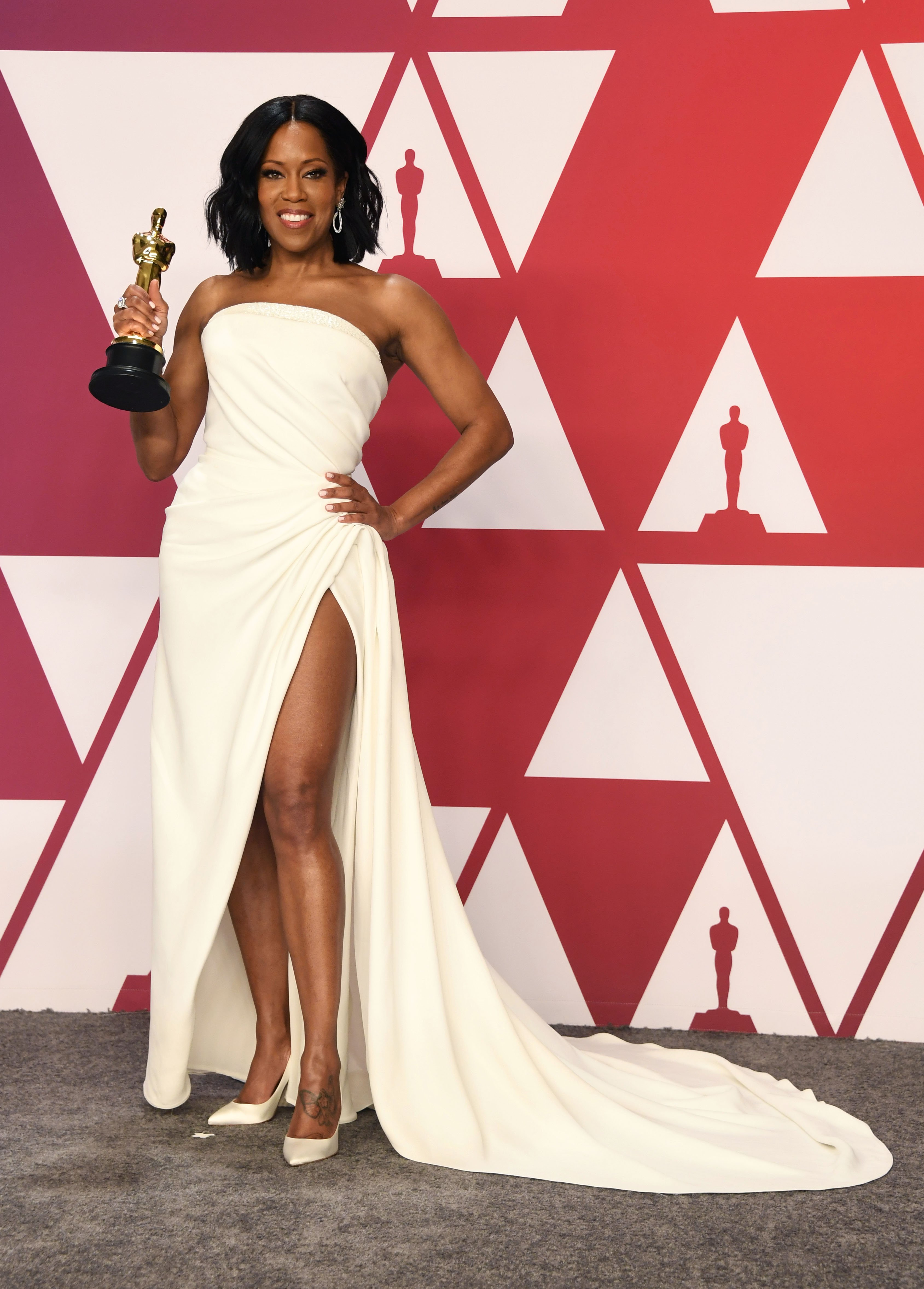 Regina King in the press room during the 91st Annual Academy Awards at Hollywood and Highland on Feb. 24, 2019 in Hollywood, California. |Photo: Getty Images