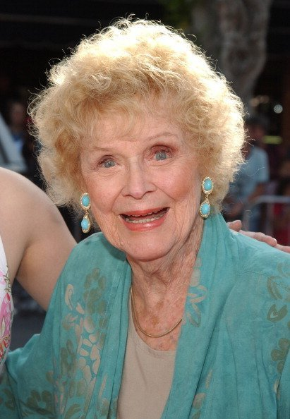 """Gloria Stuart during """"Stepford Wives"""" World Premiere - Arrivals at Mann's Bruin Theater in Westwood, California, United States 