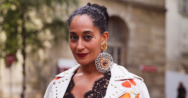 Tracee Ellis Ross Poses in 'Ross Family Christmas Onesie' at Home in Self-Timer iPhone Photos