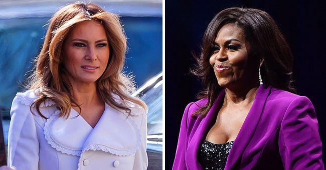 First Lady Melania Trump vs. Michelle Obama's Style Choices and Fashion Preferences