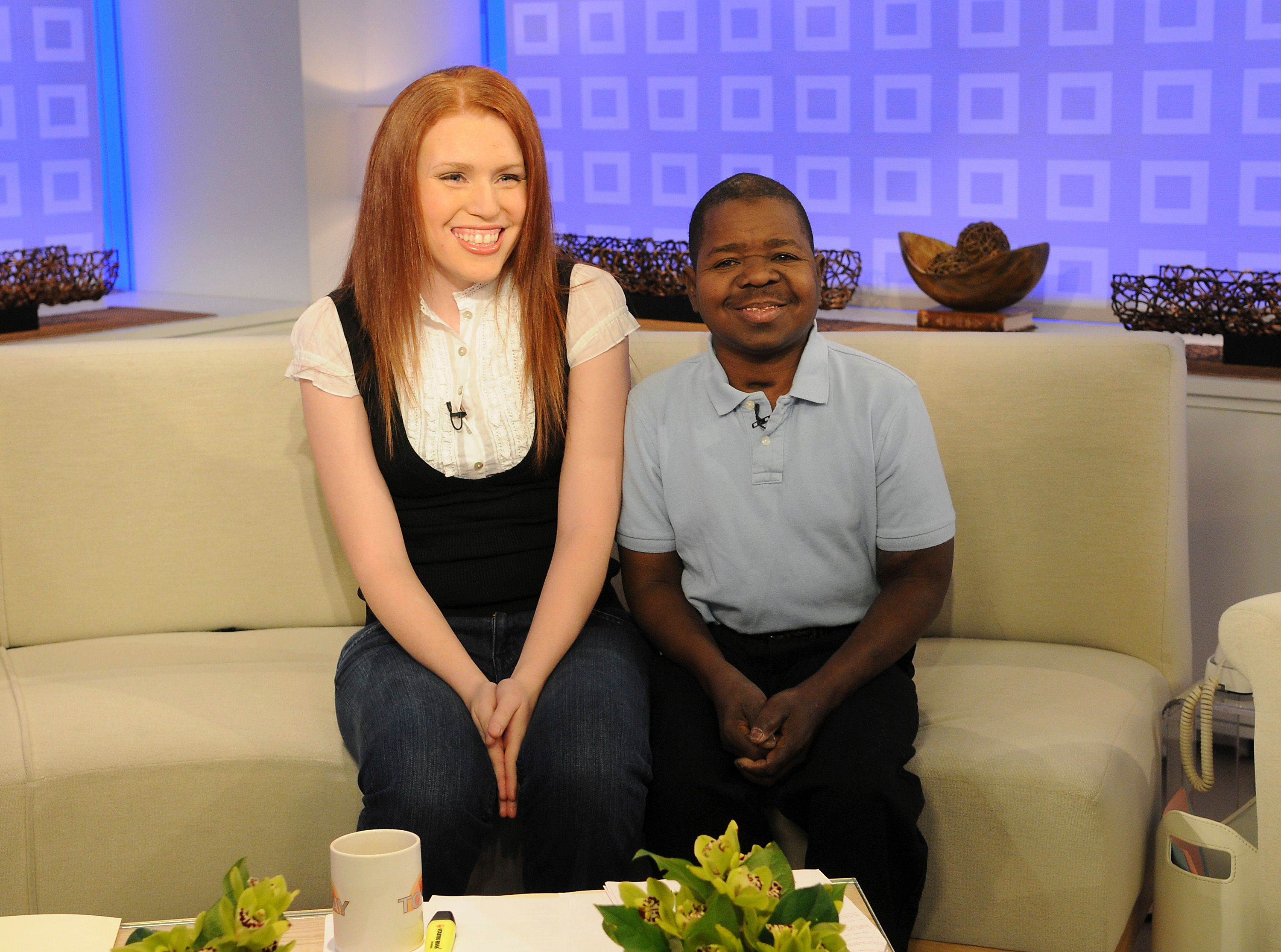 """Gary Coleman and Shannon Price appear at NBC News' """"Today"""" on February 26, 2008. 
