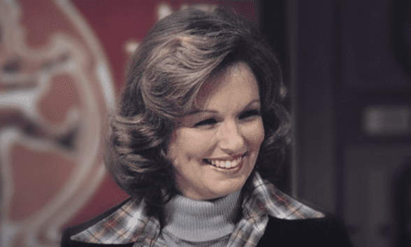 Phyllis George as featured in a tribute by CBS Sports on May 17, 2020. | Source: YouTube/CBS Sports