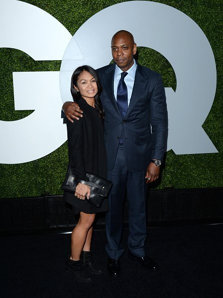 Elaine Chappelle (L) and comedian Dave Chappelle attend the 2014 GQ Men Of The Year party at Chateau Marmont on December 4, 2014 in Los Angeles, California | Photo: Getty Images