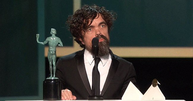 Peter Dinklage Thanks 'Game of Thrones' Cast, Northern Ireland & His Wife Erica Schmidt during SAG Awards Speech