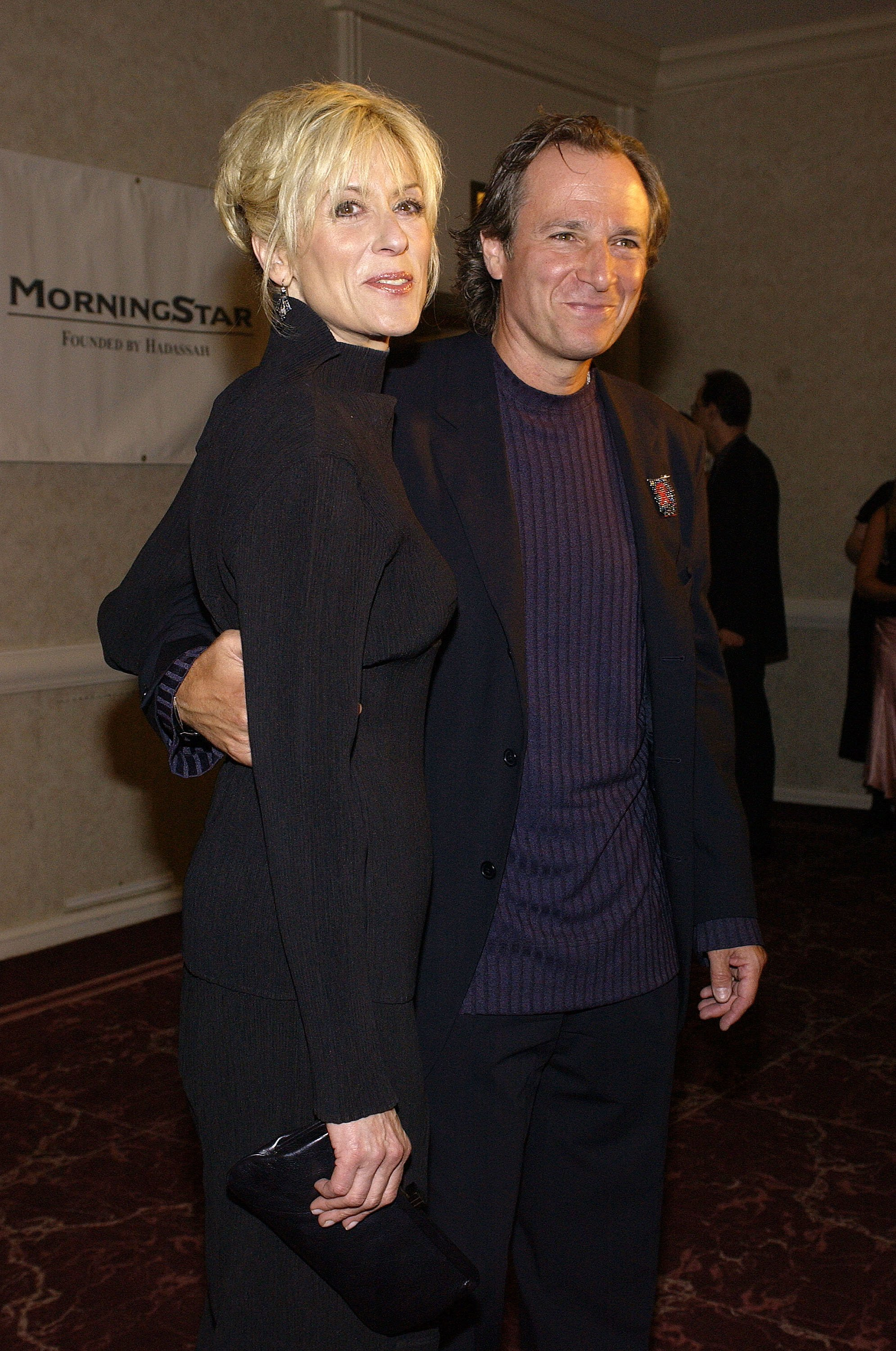 Judith Light and husband Robert Desiderio on September 22, 2003, in Beverly Hills, California. | Source: Getty Images