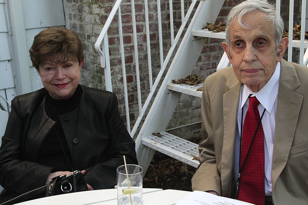 John Nash and wife Alicia Nash during the 20th Hamptons International Film Festival at The Maidstone Hotel on October 5, 2012   Photo: Getty Images
