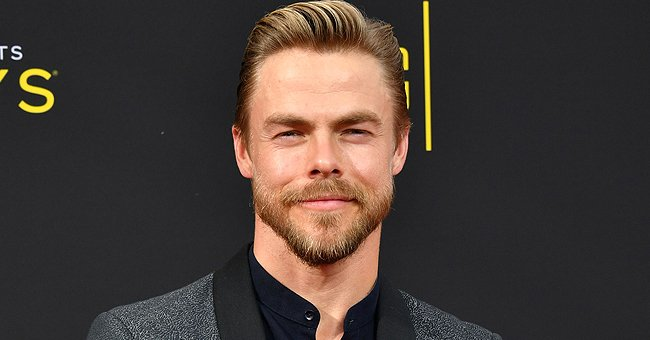 Derek Hough from 'World of Dance' Looks Happy in New Pics with Girlfriend Hayley Erbert and Friends at Disneyland