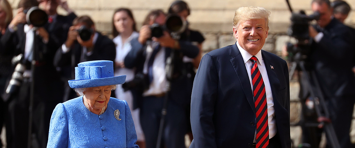 Donald Trump Brags about the Chemistry He Shares with Queen Elizabeth
