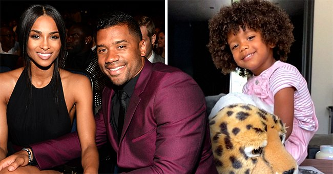 Ciara & Russell Wilson's Daughter Sienna Says She Is Happy on Her 3rd Birthday