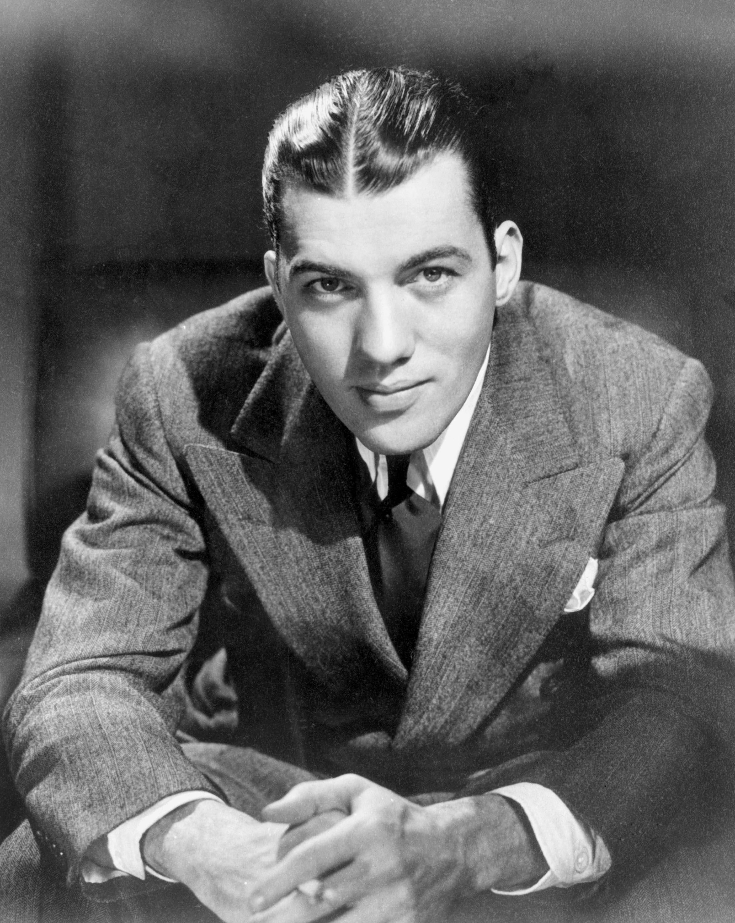 Television variety show host Ed Sullivan poses for a portrait during his career as a journalist in 1946 | Photo: Getty Images