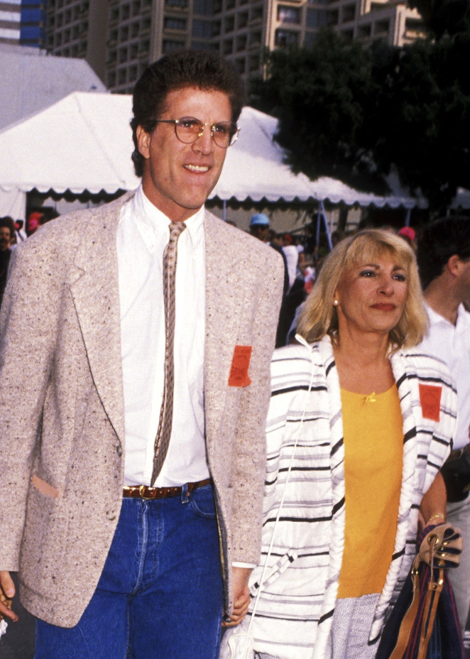Danson and Coates. Image Credit: Getty Images