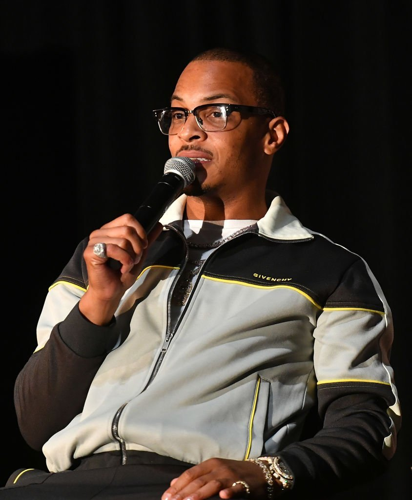 T.I. speaks onstage during Netflix Presents Rhythm+Flow Atlanta screening at Clark Atlanta University | Photo: Getty Images