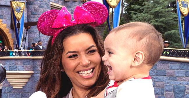 Eva Longoria Throws a Birthday Party in Disneyland for Her Son Santiago