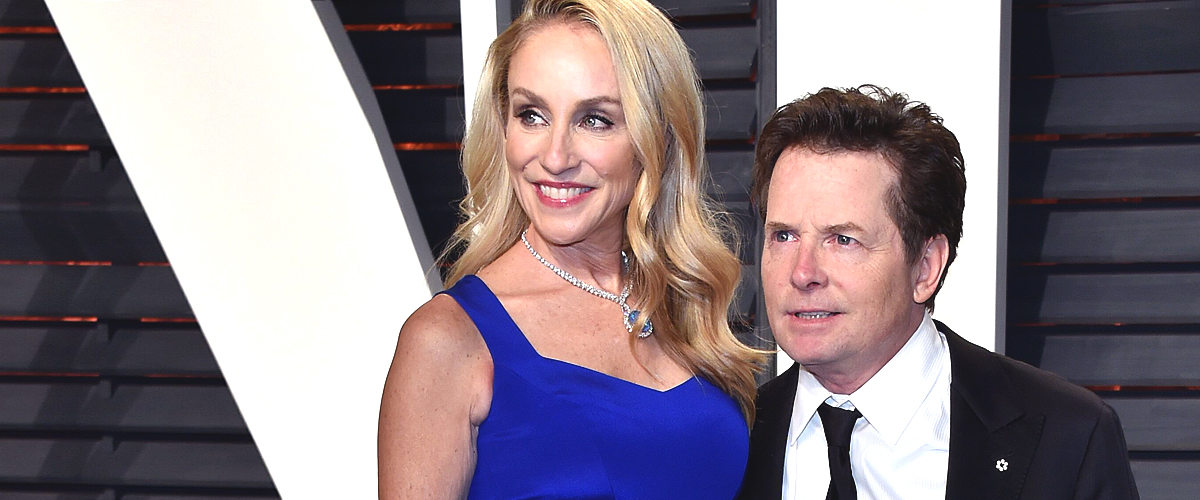 Michael J Fox and Wife Tracy Pollan Pose Together in the 'Honeymoon Capital of the World'