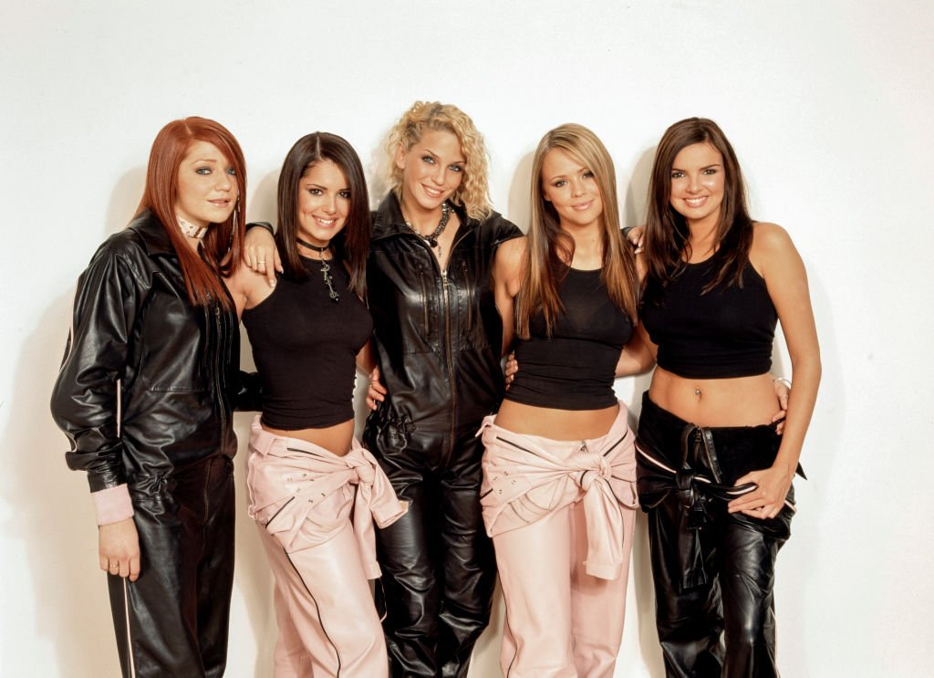 Groupe pop britanniques Girls Aloud, vers 2002. | Photo : Getty Images