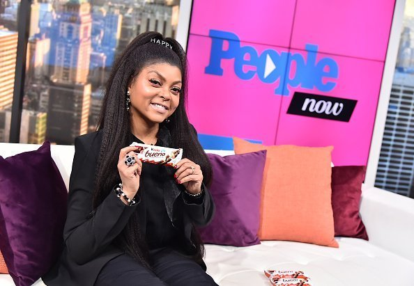 Taraji P. Henson visits People Now in New York, United States | Photo: Getty Images