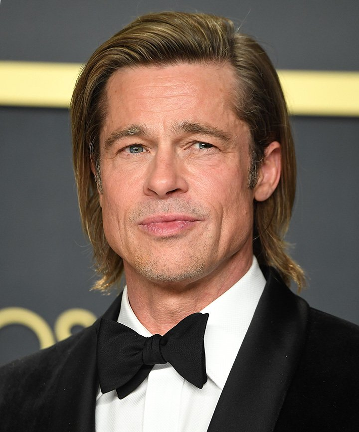 Brad Pitt at the 92nd Annual Academy Awards at Hollywood and Highland in Hollywood, California in February 2020. I Image: Getty Images.